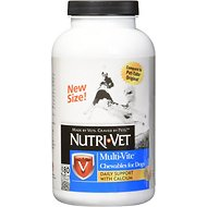 Nutri-Vet Multi-Vite Chewable Dog Supplement, 180-count