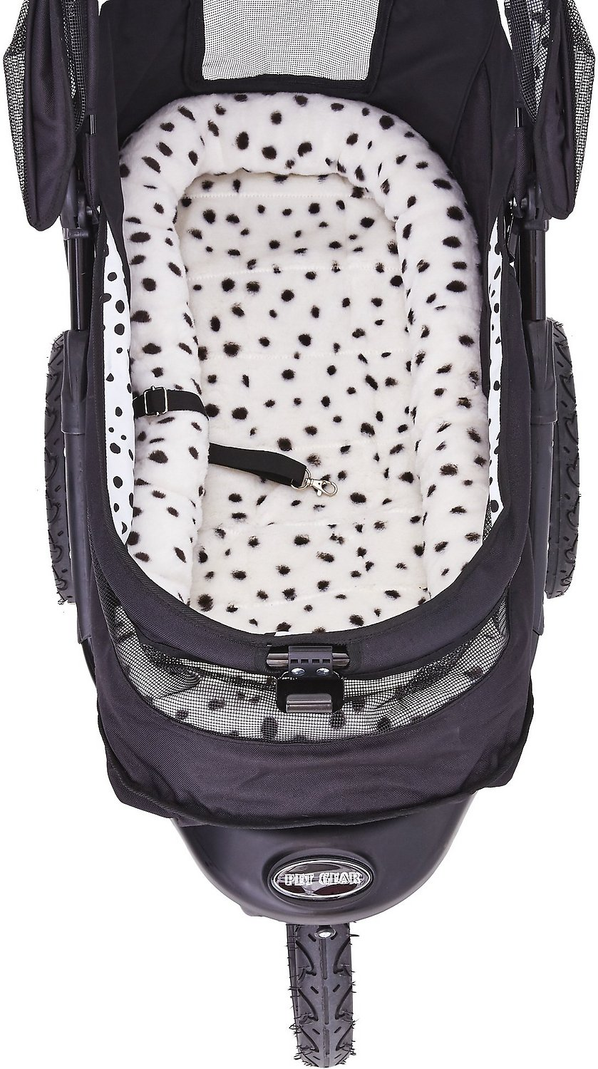 Pet Gear NV No-Zip Dog & Cat Stroller, Dalmatian - Chewy.com