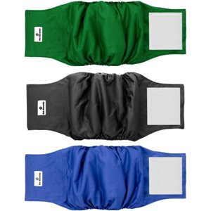 Pet Parents Belly Band Male Dog Wrap, 3-pack, Small, Gentlemen