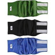 Pet Parents Belly Band Male Dog Wrap, 3-pack, Medium, Gentlemen