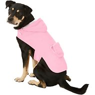 Fab Dog Travel Raincoat, Pink Girlie Skull, Large