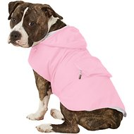 Fab Dog Travel Raincoat, Pink Girlie Skull, X-Large