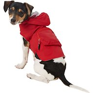 Fab Dog Travel Raincoat, Red Skull, X-Small