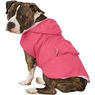 Fab Dog Travel Raincoat, X-Large, Hot Pink Crab