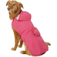 Fab Dog Travel Raincoat, Hot Pink Crab, XX-Large