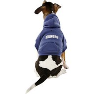 Fab Dog Hangry Dog & Cat Hoodie, 8-in
