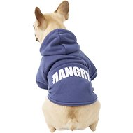 Fab Dog Hangry Dog & Cat Hoodie, 14-in