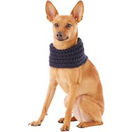 Fab Dog Infinity Dog & Cat Scarf, Navy, X-Small/Small