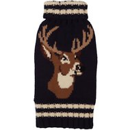 Fab Dog Stag Design Dog Sweater, 8""