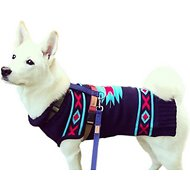 Fab Dog Tribal Design Dog Sweater, 24""