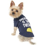 "Fab Dog ""Taco Tuesday"" Dog & Cat T-Shirt, 8-in"