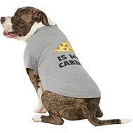 "Fab Dog ""Pizza Is My Cardio"" Dog & Cat T-Shirt, 20-in"