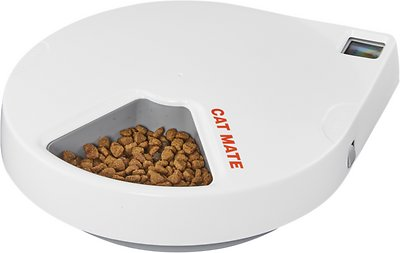 7. Cat Mate C500 Digital 5 Meal Dog & Cat Feeder