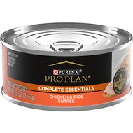 Purina Pro Plan Savor Adult Chicken & Rice Entree in Gravy Canned Cat Food, 5.5-oz, case of 24