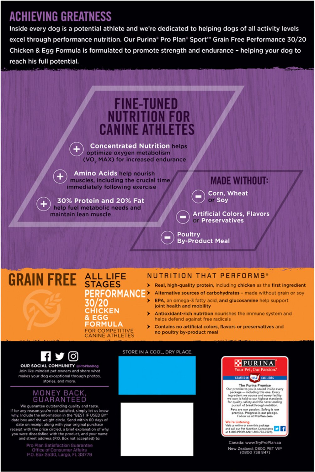 Purina Pro Plan All Life Stages Performance Dry Dog Food