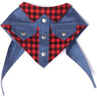 Tail Trends Wrangler Western Dog & Cat Bandana, Large