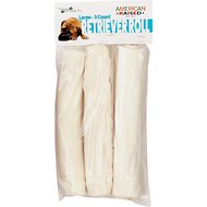 "Pure & Simple Pet 8"" Retriever Roll Dog Treat, Large, 3 count"