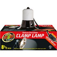 Zoo Med Deluxe Porcelain Clamp Lamp