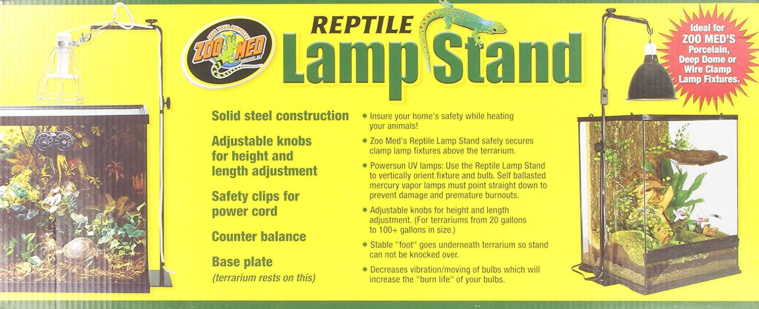 Zoo Med Reptile Lamp Stand Chewy Com
