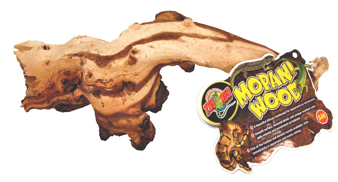 Zoo Med Mopani Wood Aquarium Decor Small Chewy Com