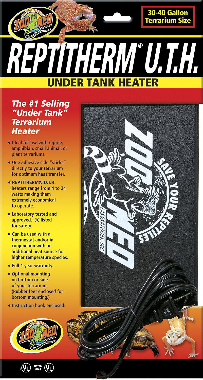 Zoo Med Reptitherm Under Tank Heater Chewy Com