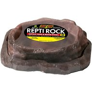 Zoo Med Repti Rock Reptile Rock Food & Water Dishes, Medium