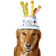 Rubie's Costume Company Birthday Cake Dog Hat, Medium/Large