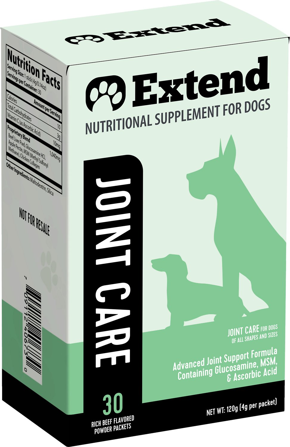 Extend Joint Care Nutritional Dog