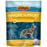 Zuke's Enhance Immune Support Chicken Formula Dog Treats, 5-oz bag