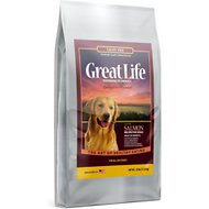 Great Life Grain-Free Wild Salmon Dry Dog Food, 25-lb bag