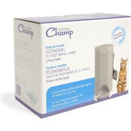 Litter Champ Cat Litter Waste Disposal System Scented Refill Liner, 3-count