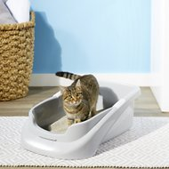 Lucky Champ Cat Litter Pan