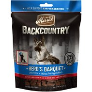 Merrick Backcountry Hero's Banquet Grain-Free Dog Treats, 6-oz bag