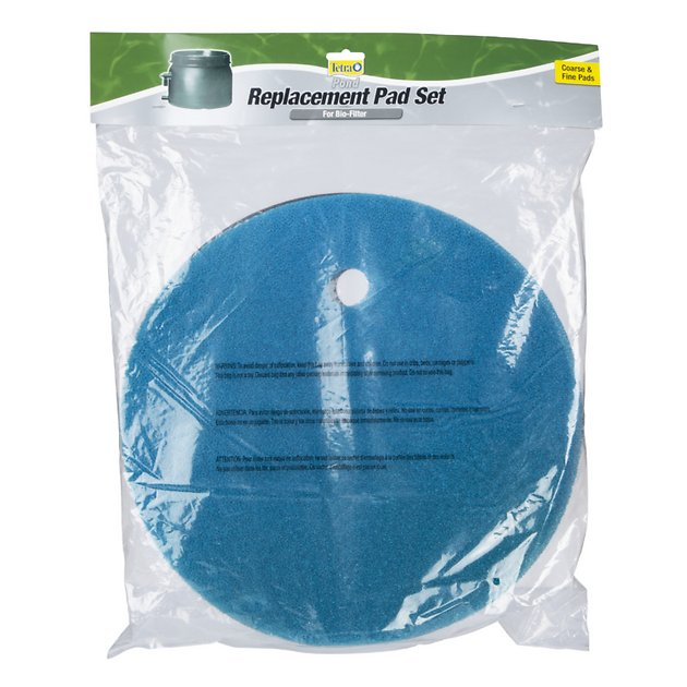 Tetra pond clear choice biofilter replacement pads for Pond carbon filter