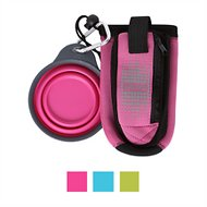 Dexas Popware for Pets Dexas Petware BottlePocket, Pink