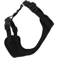 Comfort Soft Adjustable Mesh Cat Harness, Black