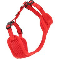 Comfort Soft Adjustable Mesh Cat Harness, Red