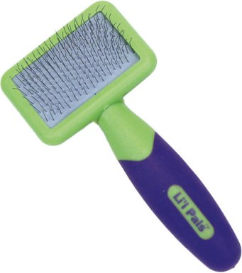 8. Li'l Pals Coated Tips Cat Slicker Brush