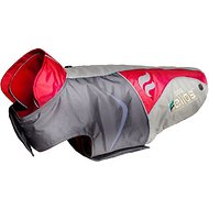 Dog Helios Lotus 2-in-1 Convertible Dog Jacket, Red, X-Large