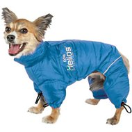 Dog Helios Thunder Full-Body Dog Jacket, Blue, X-Small