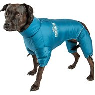 Dog Helios Thunder Full-Body Dog Jacket, Medium, Blue