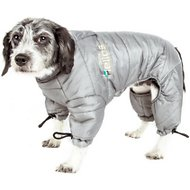 Dog Helios Thunder Full-Body Dog Jacket, Gray, Small