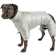 Dog Helios Thunder Full-Body Dog Jacket, Gray, Medium