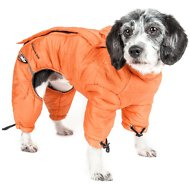 Dog Helios Thunder Full-Body Dog Jacket, Orange, Large