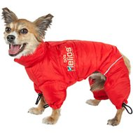Dog Helios Thunder Full-Body Dog Jacket, Red, Medium