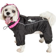 Dog Helios Weather King Full Body Dog Jacket, Black, X-Small