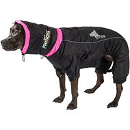 Dog Helios Weather King Full Body Dog Jacket, Black, Large