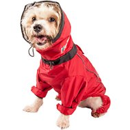 Dog Helios Weather King Full Body Dog Jacket, Red, Small
