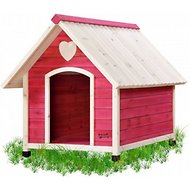 Pet Squeak Princess Pad Dog House, Medium