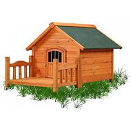 Pet Squeak Porch Pups Dog House, Small